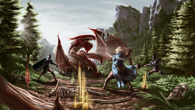 The Six Dragons Review – Skyrim on the Blockchain?